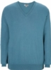 Edwards Unisex Cotton Blend V-Neck Sweater