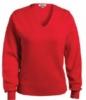 Edwards Ladies' V-Neck Cotton Sweater