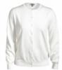 Edwards Ladies' Jewel-Neck Cotton Cardigan Sweater