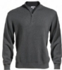 Edwards Unisex Quarter Zip Mock-Neck Sweater