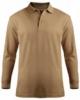 Edwards Unisex Blended Pique Long Sleeve Polo
