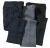 Edwards Men's Flat Front Polyester Security Pants