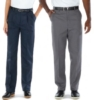 Edwards Men's Business Casual Pleated Front Chino Pants