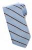 Edwards Narrow Stripe Polyester Tie
