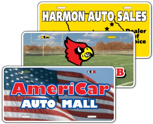 Standard License Plates
