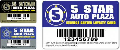 Deluxe Loyalty Cards and Badges
