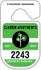 Hang Tag Parking Permits - .035