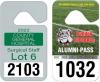 Hang Tag Parking Permits - .020