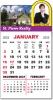 Mini Calendar Pads - Adhesive Calendar Pads