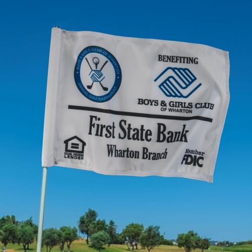 Golf Flag - 1 ply single sided imprint