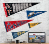 Full Color Pennants - No Strip