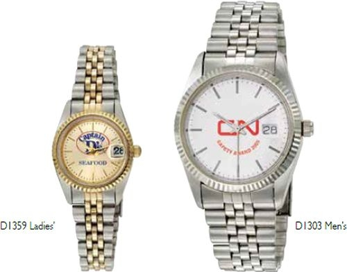 ABelle Promotional Time Saturn Ladies' Gold Watch