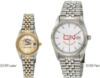 ABelle Promotional Time Saturn Men's Gold Watch