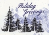 Holiday Forest Illustration Holiday Greeting Card (5