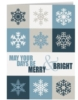 May Your Days Be Merry & Bright Holiday Greeting Card (5