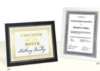Dual Easel Certificate Frame