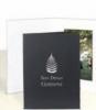 Black Horizontal Portrait Folder (4