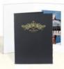 Black Vertical Portrait Folder (5
