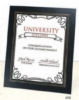 Deluxe Certificate Frame for 8 1/2