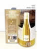 White Wine 3-D Wave Table Tent
