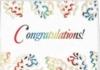 Congratulations Confetti Everyday Greeting Card (5