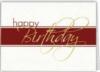 White & Blue Happy Birthday Everyday Greeting Card (5
