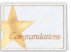 Congratulations Everyday Blank Note Card (3 1/2