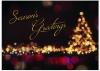 City Lights Holiday Greeting Card (5
