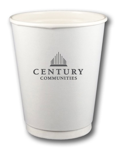 12 oz. Double-Wall, Insulated Paper Cups - Quick-Ship
