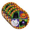 9-Inch Round Paper Plates - Flexographic Printing