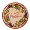 10.5-Inch Round Paper Plates - Flexographic Printing