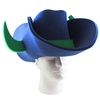 Cowboy Hat with Bull Horns