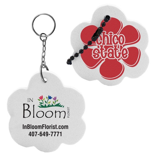 Flower Floating Key Tag
