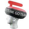 Curling Rock Foam Hat