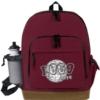 Suede Bottom Backpack w/ B & P Holder