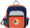 Contemporary Kid's Backpack w/ Side Elastic Pocket