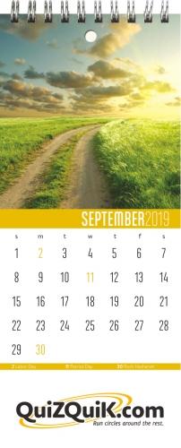 Desktop Planners™ - Wall Monthly Planner - 3.75