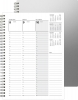 Appointment Weekly Organizer - Alloy Front / Chip Back