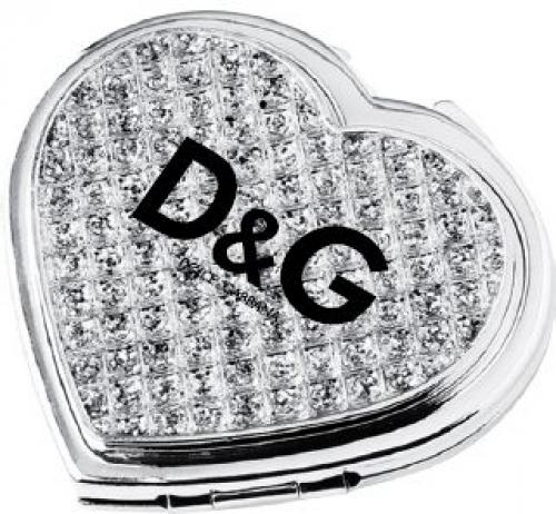 Jewelry Heart Compact Mirror