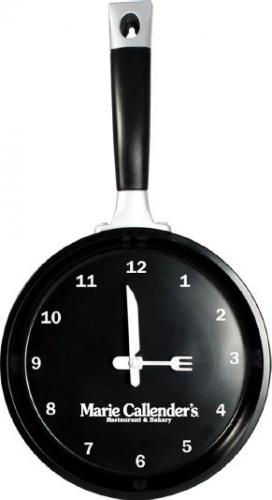 Frying Pan Clock