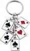 Poker Card Keychain