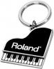 Metal Piano Shape Keychain