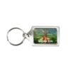 Silver Tombstone Key Tag