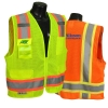 Class 2 Safety Vest With Extra Pockets