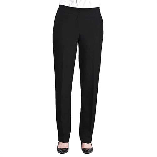 Ladies Tailored Front UltraLux Pants Gray