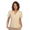Ladies Short Sleeve Modesty Weave Blouse