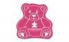 Teddy Bear Vinyl Jar Opener