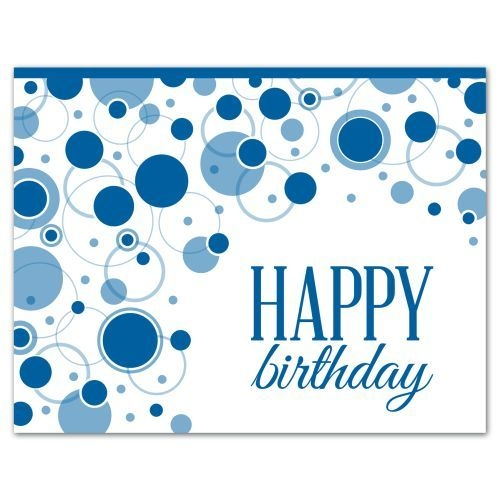 BUBBLY BIRTHDAY WISHES (White Unlined Fastick® Envelope)