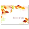 WATERCOLOR THOUGHTS (Gold Lined White Fastick® Envelope)