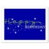 STELLAR BIRTHDAY (White Unlined Envelope)